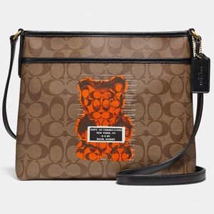 Coach Limited Edition Vandal Gummy Crossbody Bag